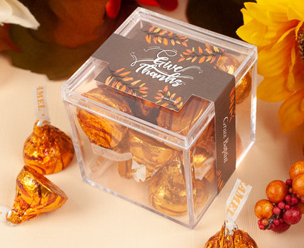 Thanksgiving Just Candy Favor Cubes