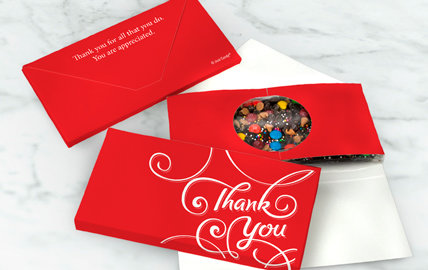 Personalized Infused Chocolate Bars in Gift Box