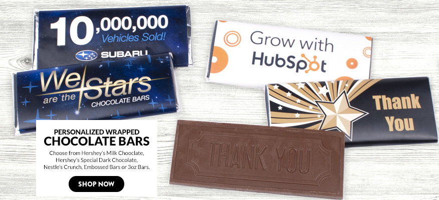 Personalized Business Chocolate Bars