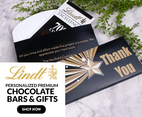 Personalized Lindt Bars & Gifts
