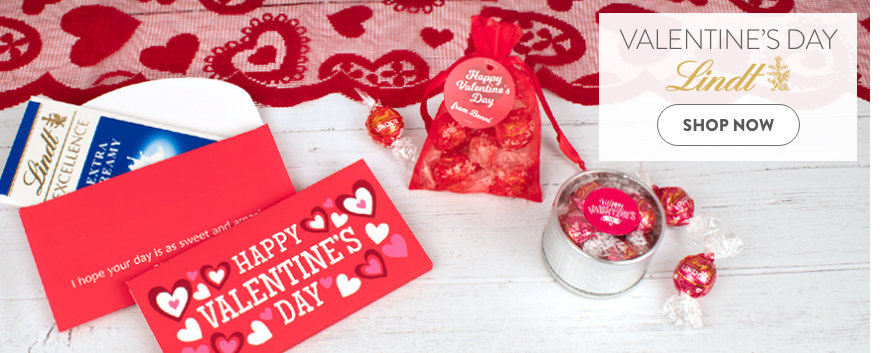 Valentine's Day Lindt Favors & Gifts