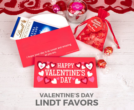 Valentine's Day Lindt Favors