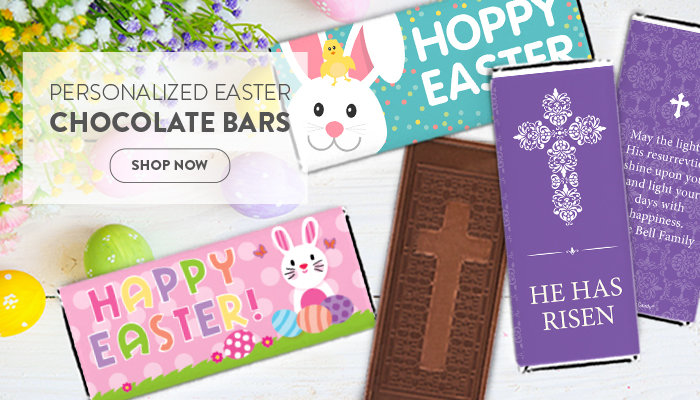 Shop Personalized Chocolate Bars