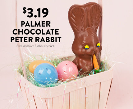 Palmer Chocolate Bunny
