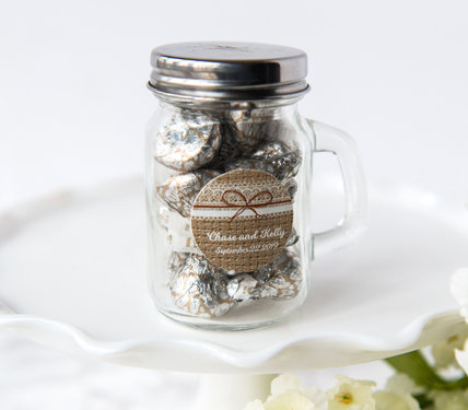 Wedding Glass Container Favors