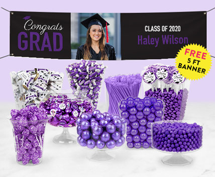 graduation candy buffets