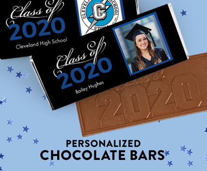 Shop Personalized Graduation Chocolate Bars