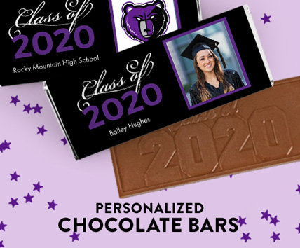 Graduation Chocolate Bars