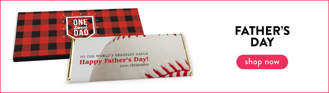 Personalized Father's Day Wrappers & Box Covers