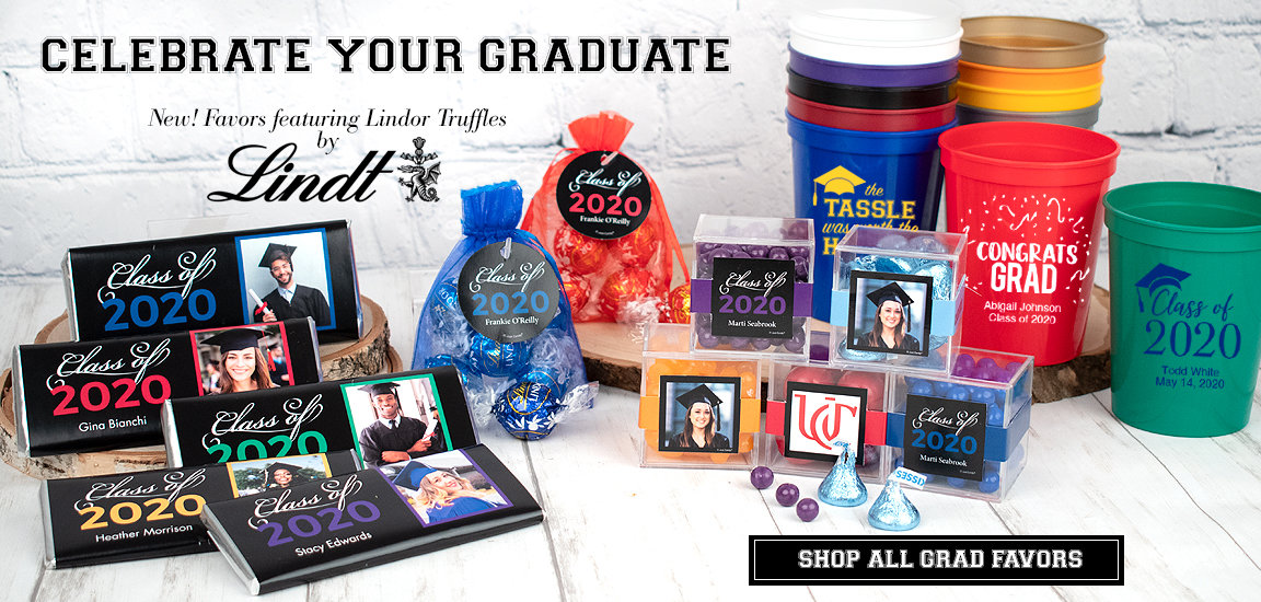 Shop Personalized Class of 2020 Graduation Candy Favors