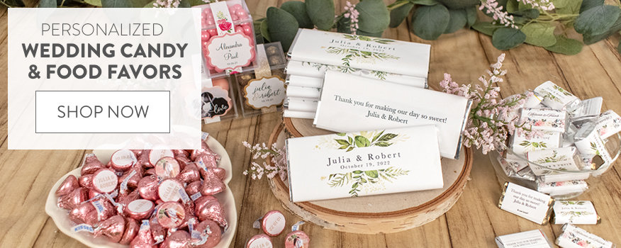Shop All Wedding Candy & Food Favors