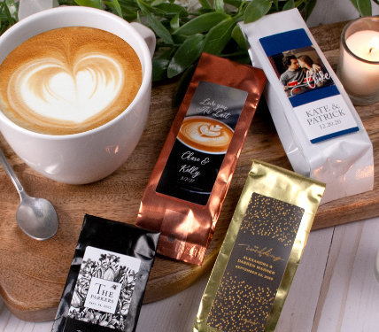 Personalized Coffee Favors
