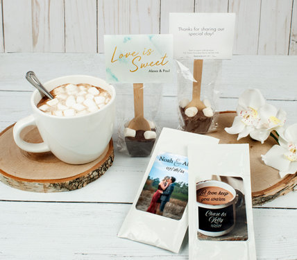 Personalized Hot Chocolate Favors