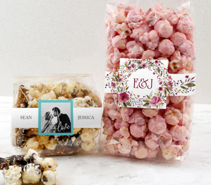 Personalized Popcorn Favors