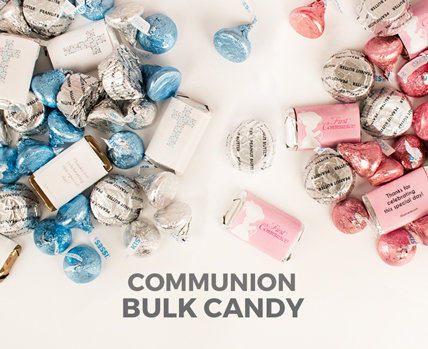 Personalized First Holy Communion Bulk Candy