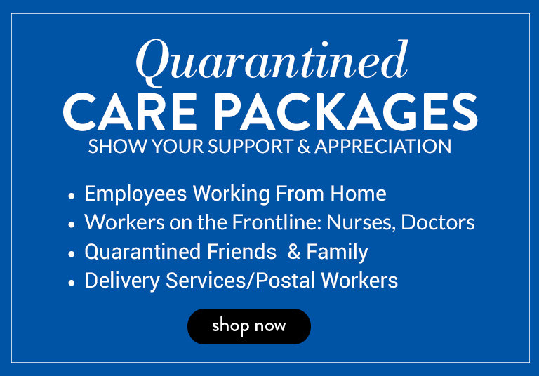 Shop Quarantined Care Packages to Show Love and Support