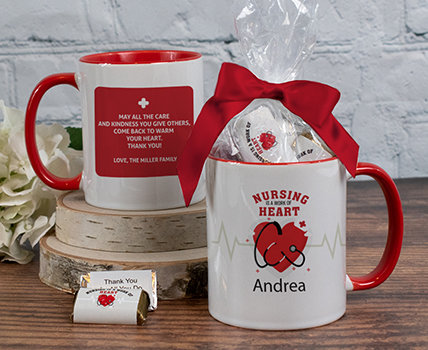 Personalized Nurse Appreciation Mugs