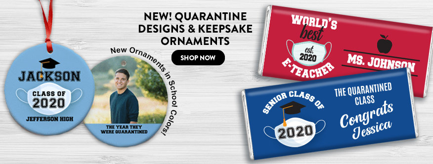 Shop Quarantine Graduation Designs & Keepsake Ornaments