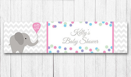 Shop Personalizd 5 foot Baby Shower Banners