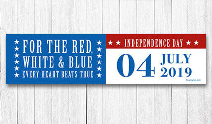 Shop 5 foot Personalized 4th of July Banners