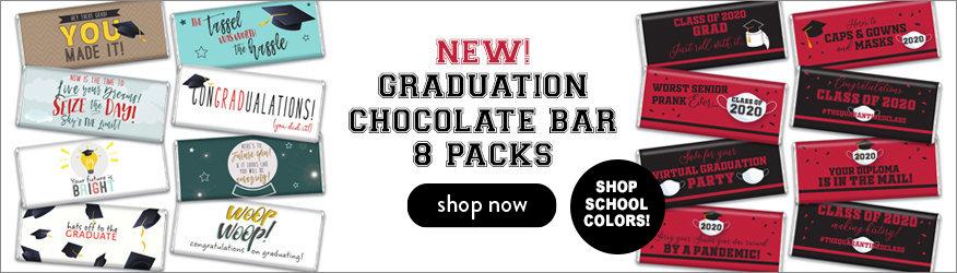 SHOP GRADUATION HERSHEY'S 8 PACK CHOCOLATE BARS