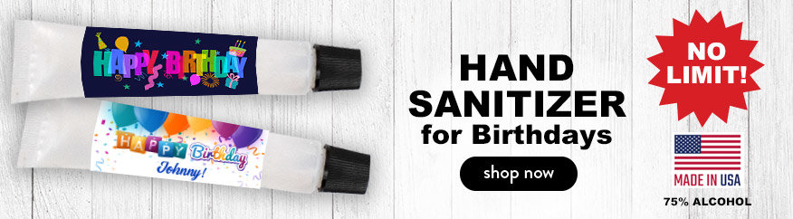 BIRTHDAY HAND SANITIZER