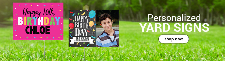 Personalized Kids Birthday