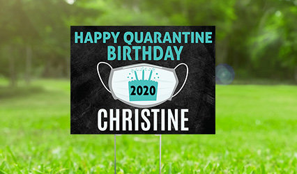 Personalized Adult Birthday Yard Signs