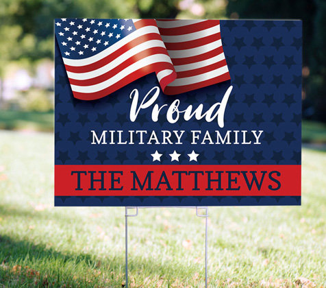 Independence Day Yard Signs