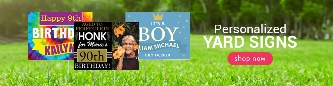 Personalized Yard Signs