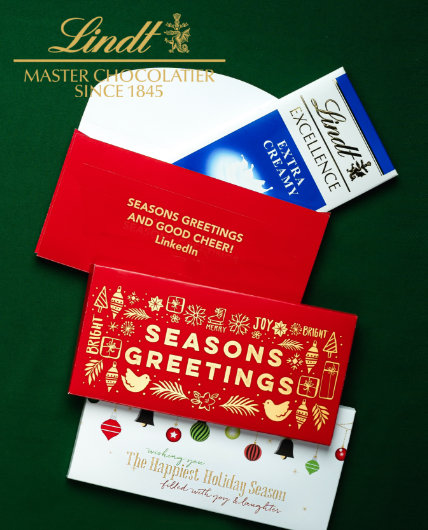 Shop Holiday Personalized Lindt Bars