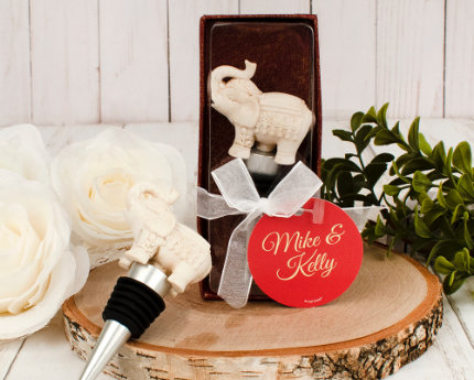 personalized wedding wine stoppers