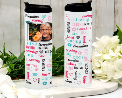 personalized family thermal tumblers