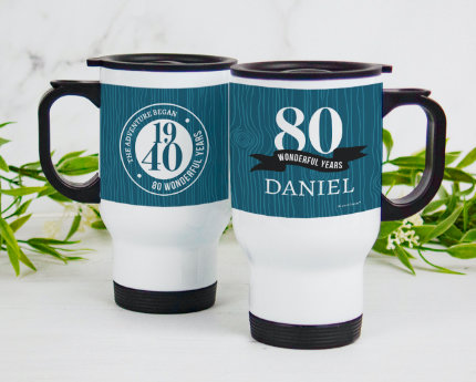 personalized birthday handle travel mugs
