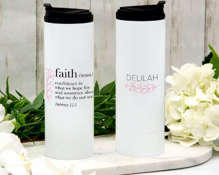 personalized themed thermal tumblers