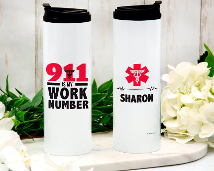 personalized business thermal tumblers
