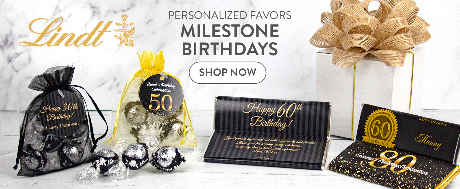 SHOP MILESTONE FAVORS