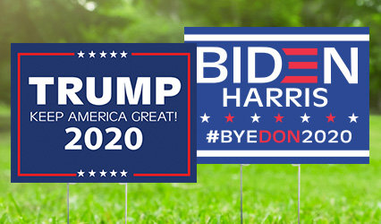 2020 Political Yard Signs