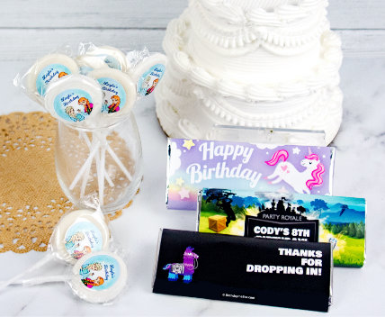 Personalized Kids Birthday Favors