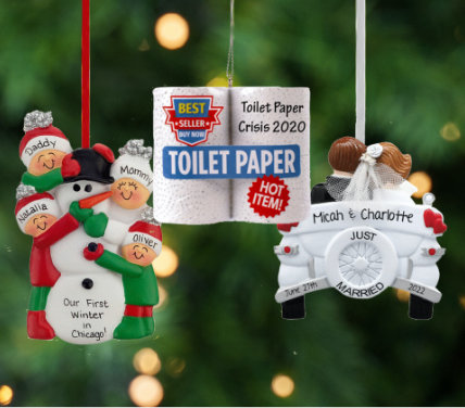 50% OFF CHRISTMAS ORNAMENTS