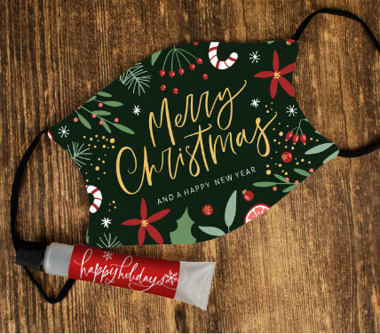 50% OFF CHRISTMAS HAND SANITIZERS AND FACE MASKS
