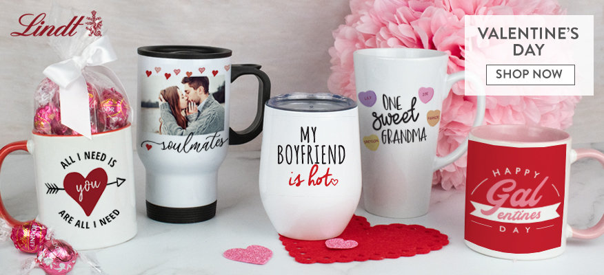 New! Valentines Day Drinkware