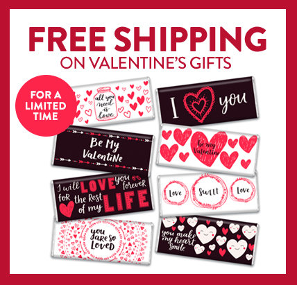Free Shipping on Valentine's Day Gifts