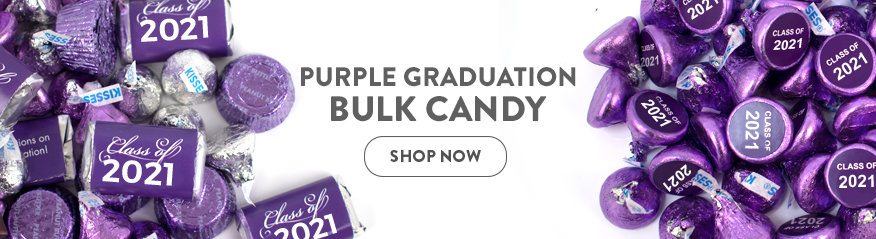 purple bulk candy