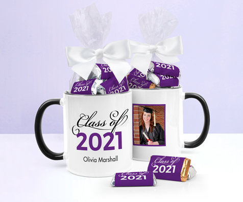 Purple Graduation Mugs