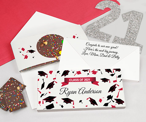 Red Gourmet Infused Chocolate Bars