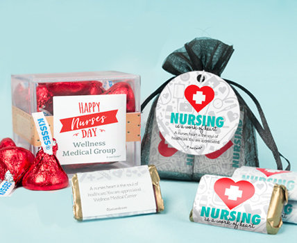 Nurse appreciation Candy Filled Favors