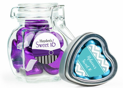 Personalized Candy Filled Favors