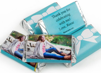 personalized SWEET 16 HERSHEY'S miniatures