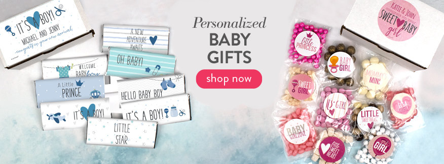 Personalized Baby Gifts and Favors